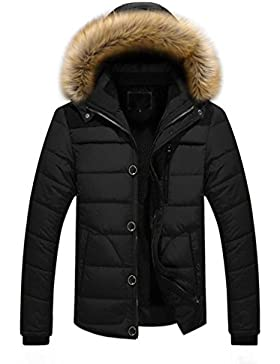 OverDose chaquetas hombre invierno gruesa a prueba de viento de la chaqueta de la piel