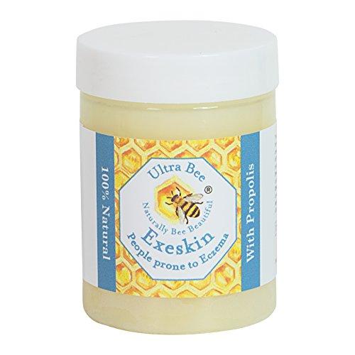 100% natürliche Therapie Balsam für Menschen anfällig für Ekzeme, Psoriasis, Dermatitis, Rosacea, trockene juckende Haut. Hergestellt mit Bienen- und Gemüseprodukten 100ml