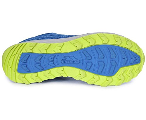 Trespass - Diversion, Scarpe sportive outdoor Uomo Blu (Blu (Electric Blue))