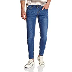 Jealous 21 Women's Tapered Jeans (PJEBX-S-bY00751-16S1, 36, BLUE)