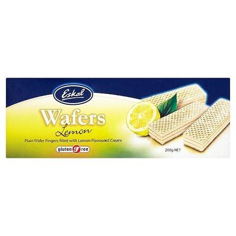 Eskal Gluten Free Lemon Wafers, 200g