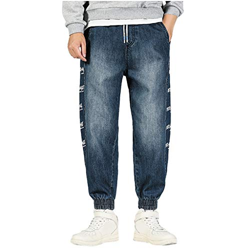 Herren Jeanshose Lose Jeans Pluderhosen Schlaghosen Chino Cargo Designer Hose Neu Denim Blaue Graue Lange für Männer Coole Jungen Schwarze Winter Basic Freizeithose Sporthose
