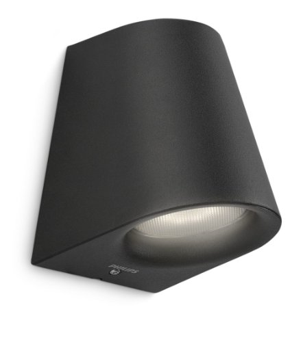 Philips Virga Lanterne murale LED Noir 1 x 4 W