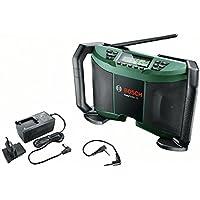 Bosch Radio a batería EasyRadio 12 (Sin batería, Sin cargador, Power for all, 12 V, Caja de cartón, Cable AUX)