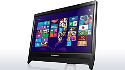 Lenovo C260 57328206 19.5-inch All-in-one Desktop (Celeron_J1800/2GB/500GB/Win 8.1/Integrated Graphics), Black