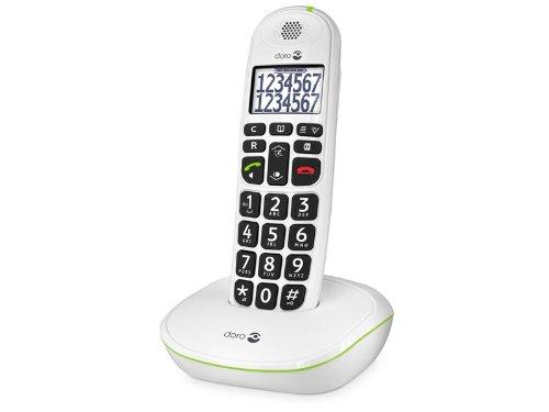 Doro PhoneEasy 110 DECT - Teléfono inalámbrico para personas mayores