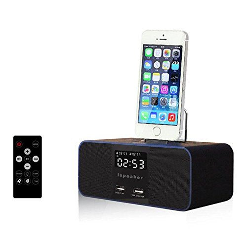 Usado, QHB Despertador De Cabecera Altavoz Bluetooth Iphone segunda mano  Se entrega en toda España