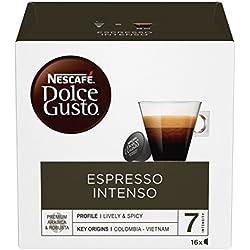 2 de Nescafé Dolce Gusto - Espresso Intenso - Cápsulas de Café - 16 Cápsulas