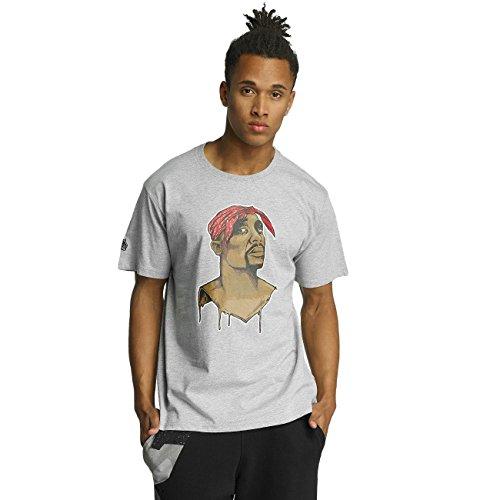Dangerous DNGRS Uomo Maglieria/T-Shirt Twopac Grigio