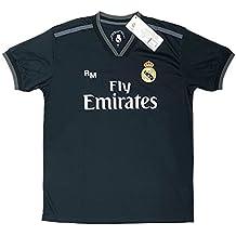 2fa518b9501ff Real Madrid FC Camiseta Adulto Replica Oficial Segunda Equipación 2018 2019  ...