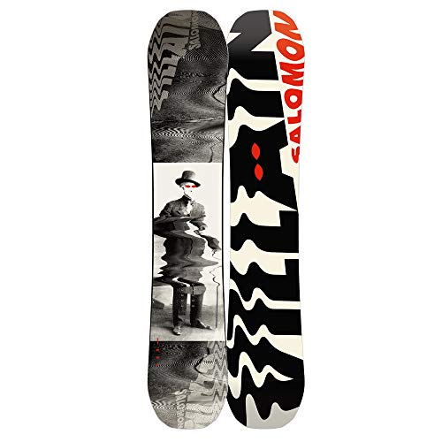 Salomon Kinder Freestyle Snowboard The Villain 145W 2019 Boys