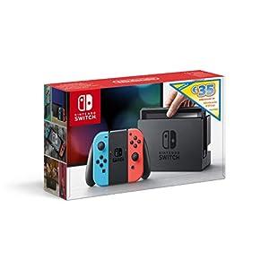 Nintendo Switch Konsole Neon-Rot/Neon-Blau + 35€ e-Shop Guthaben