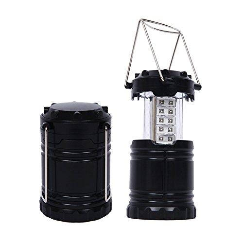E-db Camping Lanterna 30 LED Lampada da Campeggio Portatile Luci da Campeggio Illuminazione da Esterno Lanterna Torcia a LED