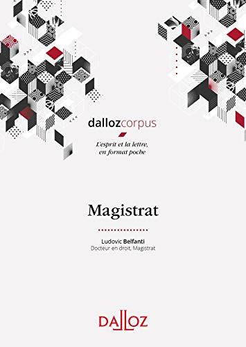 Magistrat - 1ère édition par  Ludovic Belfanti