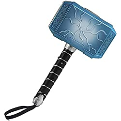 Xiton Thor Battle Hammer Martillo de plástico Creativo Juguete Juguete de música Ligera para Regalo de los niños (Azul) 1 unid