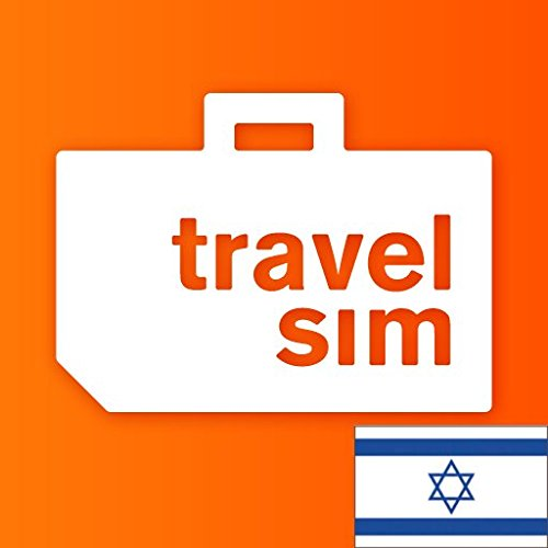 Prepaid TravelSIM Welt: Israel mit 5 GB Daten/30 Tage (LTE, 4G, 3G) Prepaid-handy-sim
