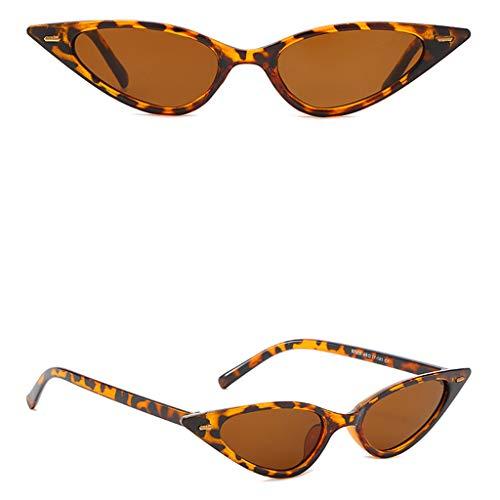 WooCo Kleine Sonnenbrille für Herren und Damen, Heißer Verkauf DEATU Männer und Frauen Cat Eye...