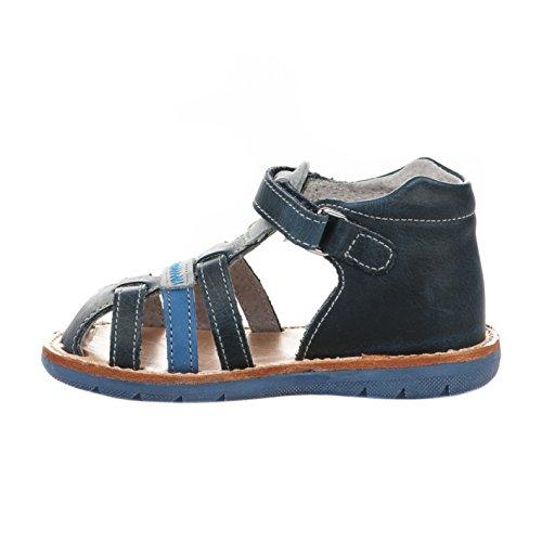 Nu-pieds garçon - FéTéLACé - Bleu - MATCHLIM - Millim Bleu
