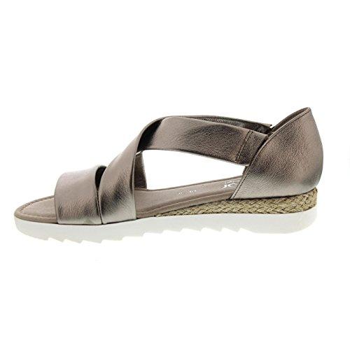 Gabor Shoes Damen Comfort Offene Sandalen mutaro (Jute)