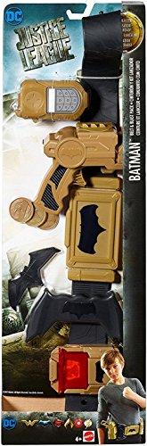 La Liga de la Justícia - Batman superhero belt (Mattel FGM15)