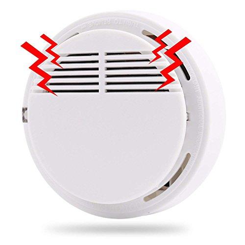 MVPOWER 10er Set Rauchmelder/Sensor Feuer Schutz Sicherheit Alarm Drahtlose Rauch Alarm 85db