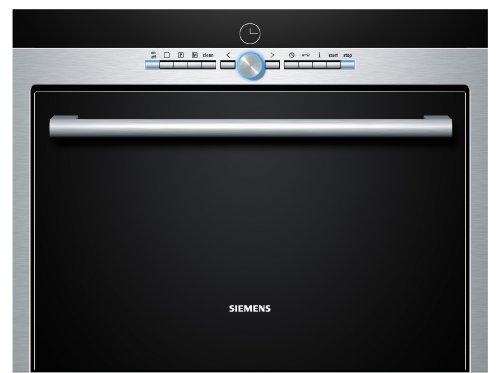 Siemens HB26D552 Einbau-Dampfgarer / 38 L  / Edelstahl /  Entkalkungsprogramm / Sicherheitsabschaltung