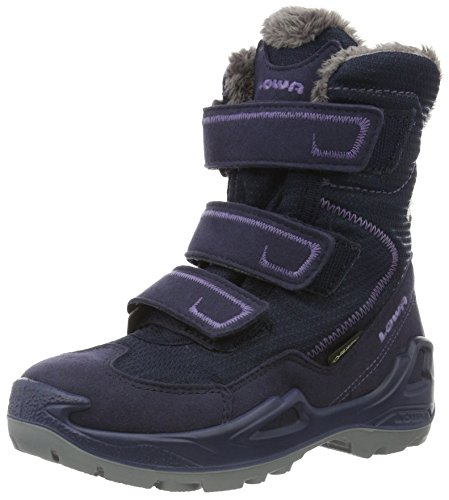 Lowa Unisex-Kinder Milo GTX Trekking-& Wanderstiefel, Violett (Aubergine/Violett), 36 EU