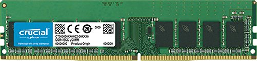 Price comparison product image Crucial CT8G4WFD8266 DDR4 8 GB DIMM 288-Pin 2666 MHz/PC4-21300 CL19 1.2 V Unbuffered ECC Memory Kit - Green
