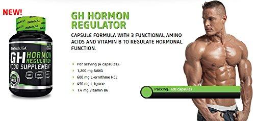 Biotech USA GH Hormon Regulator, 120 Kapseln