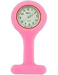 Boxx f036.19–Pocket watch, Rubber Strap Pink