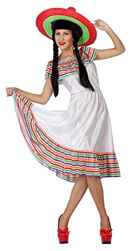 Atosa–4979–Kostüm–Mexikanische–Erwachsene–Größe (Mexicaine Kostüm)