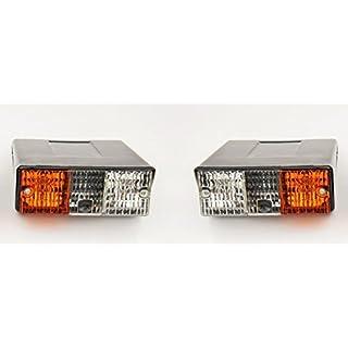 Bajato Vorne Seitenblinker/Blinker Lampe Deutz Fahr Traktor Satz von Links & Rechts (ohne glühlampen)