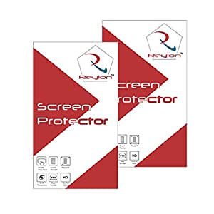 Reylon Pack of 2 Clear Screen Guard For Lenovo A7000
