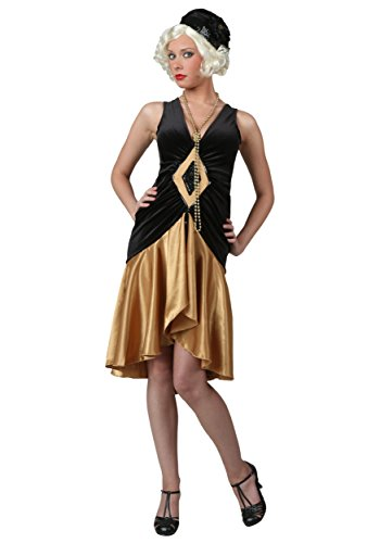 FUN Costumes Roaring 20's Flapper Dress Medium (Womens Roaring 20's Kostüm)