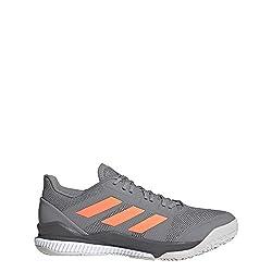 adidas Mens EH0847_46 2/3 Handball Shoe, Grey, EU