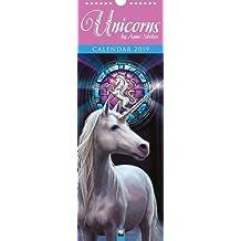 Anne Stokes Unicorns slim calendar 2019 (Art Calendar)
