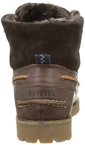 Gaastra Damen Braga High Tmb Mokassin Stiefel Braun (2200 DARK BROWN)