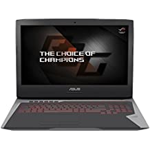 ASUS ROG G752VS-BA336T - Intel Core i7-7700HQ (6M Cache, 2.8GHz), Intel HD Graphics 630 + NVIDIA GeForce GTX 1070, 8GB RAM, 1TB HDD + 256GB SSD, Ethernet, Windows 10