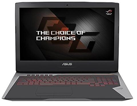 Asus ROG G752VS-BA206T 43,9cm (17,3 Zoll FHD matt 120Hz) Gaming Notebook (Intel Core i7-6700HQ, 8GB RAM, 256GB SSD, 1TB HDD, Nvidia GTX 1070, BluRay, Windows 10