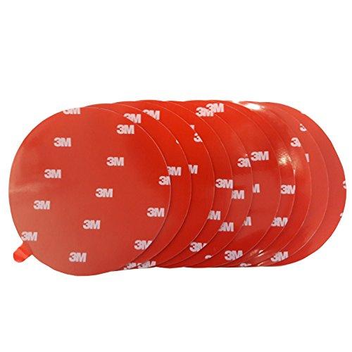 3M 4229P doppelseitiges Klebeband Montage Klebestreifen Klebepads Durchmesser 100mm 10 Stück