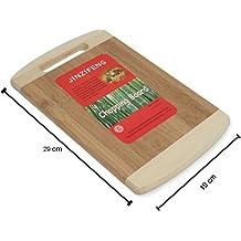 Chrome 30X20Cm Wooden Cutting Board, Brown