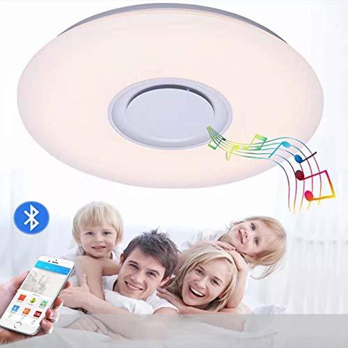 Luz de techo LED Ø40CM 36W, 95V-265V, música moderna que reproduce la...