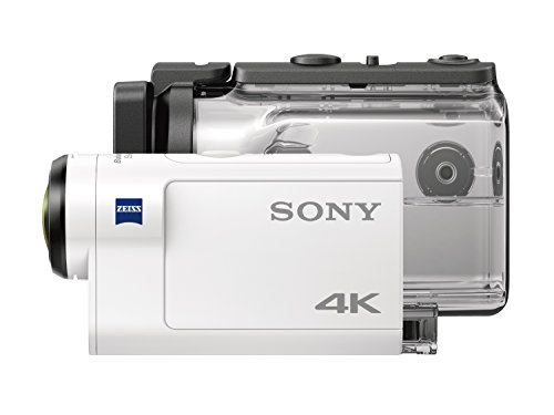 Sony FDR X3000R - Action Cam 4k (con Balanced Optical SteadyShot, Wifi, GPS, kit con Finger grip AKAFGP1)