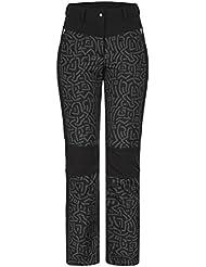 ICEPEAK–Pantalones de esquí Catlin 54191, mujer, color negro, tamaño 36 [DE 34]