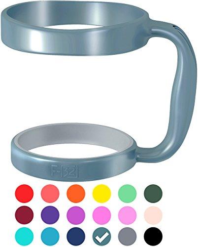 �r 30Oz Yeti Rambler-Hot Pink Grün Violett erhältlich-passt rtic Tumbler SIC Tasse und andere 30Unzen Tumbler-Seafoam Blau, plastik, Blue Steel (50% Blue/ 50% Gray), 30 Oz ()