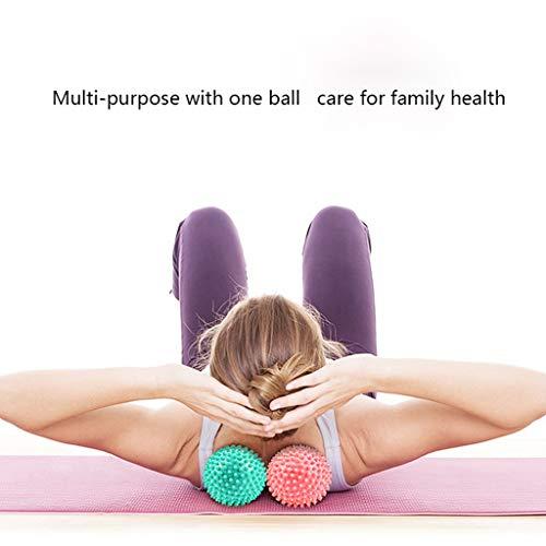 DUHUI massage Fitness Massage Ball, Sole Yoga Muskel Faszie Release Ball Muskel entspannen Kochfeld Ball Acupoint Fitness Ball (Farbe : Aqua Blue) -