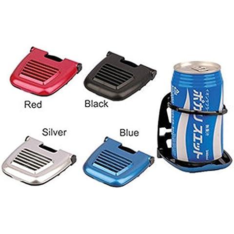 Interesting® La calidad del hight coche salida portavasos plegable coche soporte Holder coche botella soporte automático multifuncional taza portabebidas