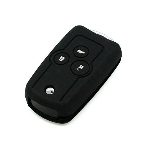 fassport Silikon Cover Haut Jacke Fit für Honda Flip Fernbedienung Schlüssel - Remote Honda Accord 2013