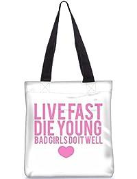 Snoogg Digitally Printed Poly Canvas Tote Bag Shoulder Bag - B01D00O9GW