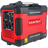 Matrix 160100032 Inverter Generadores de corriente, Rojo, ...